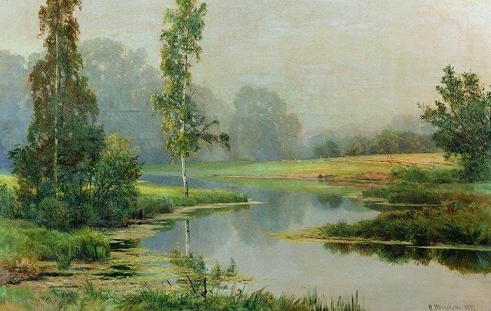 Ivan Shishkin, Misty Morning, 1897