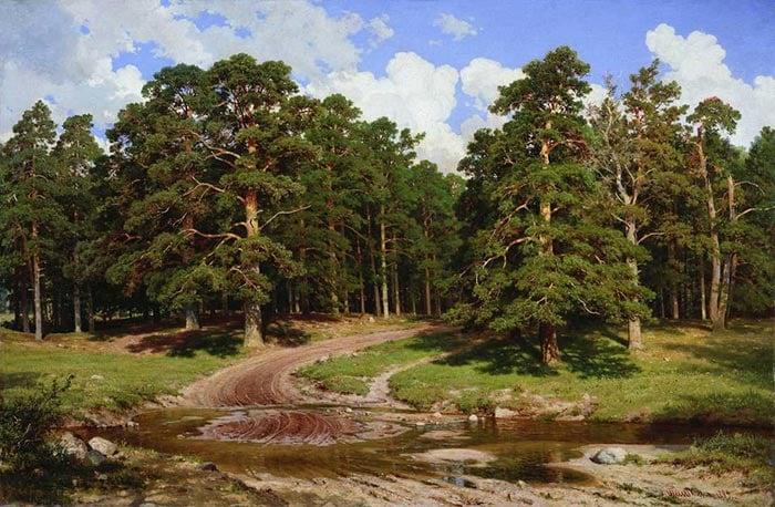 Ivan Shishkin, Pine Forest, 1895