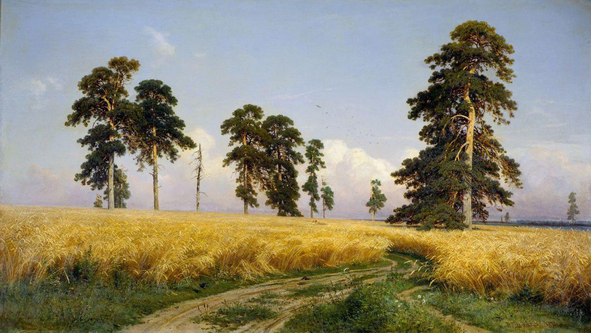 Ivan Shishkin, Rye, 1878