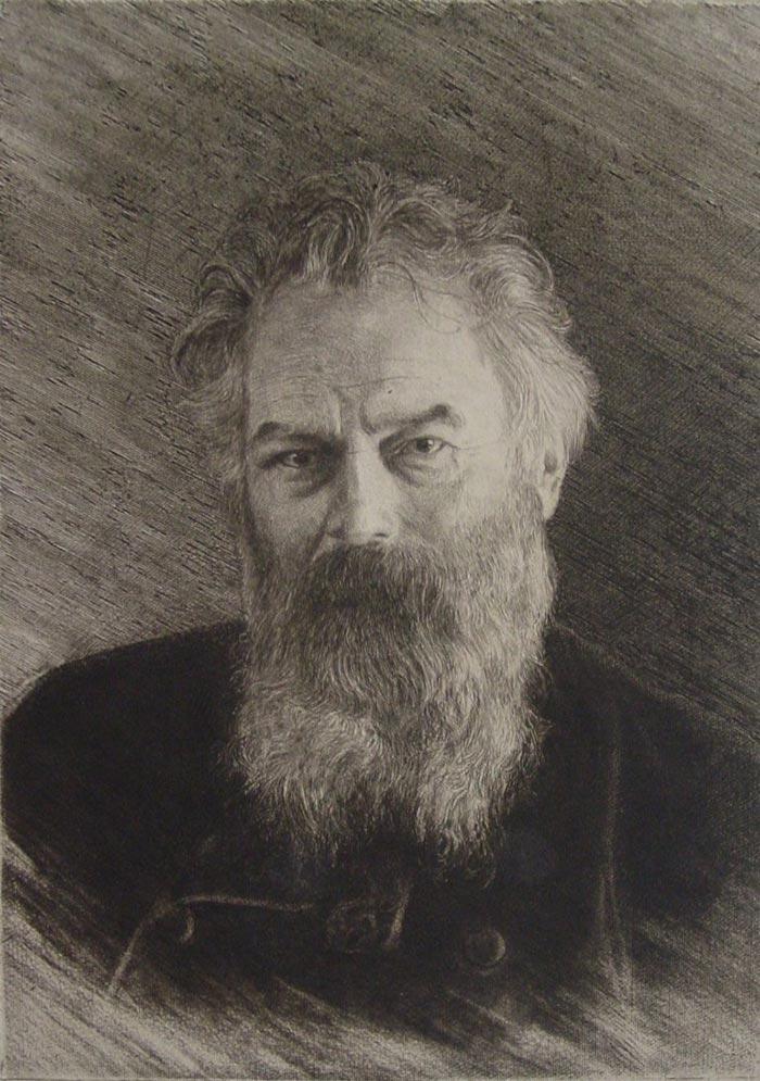 Ivan Shishkin, Self-Portrait, 1886