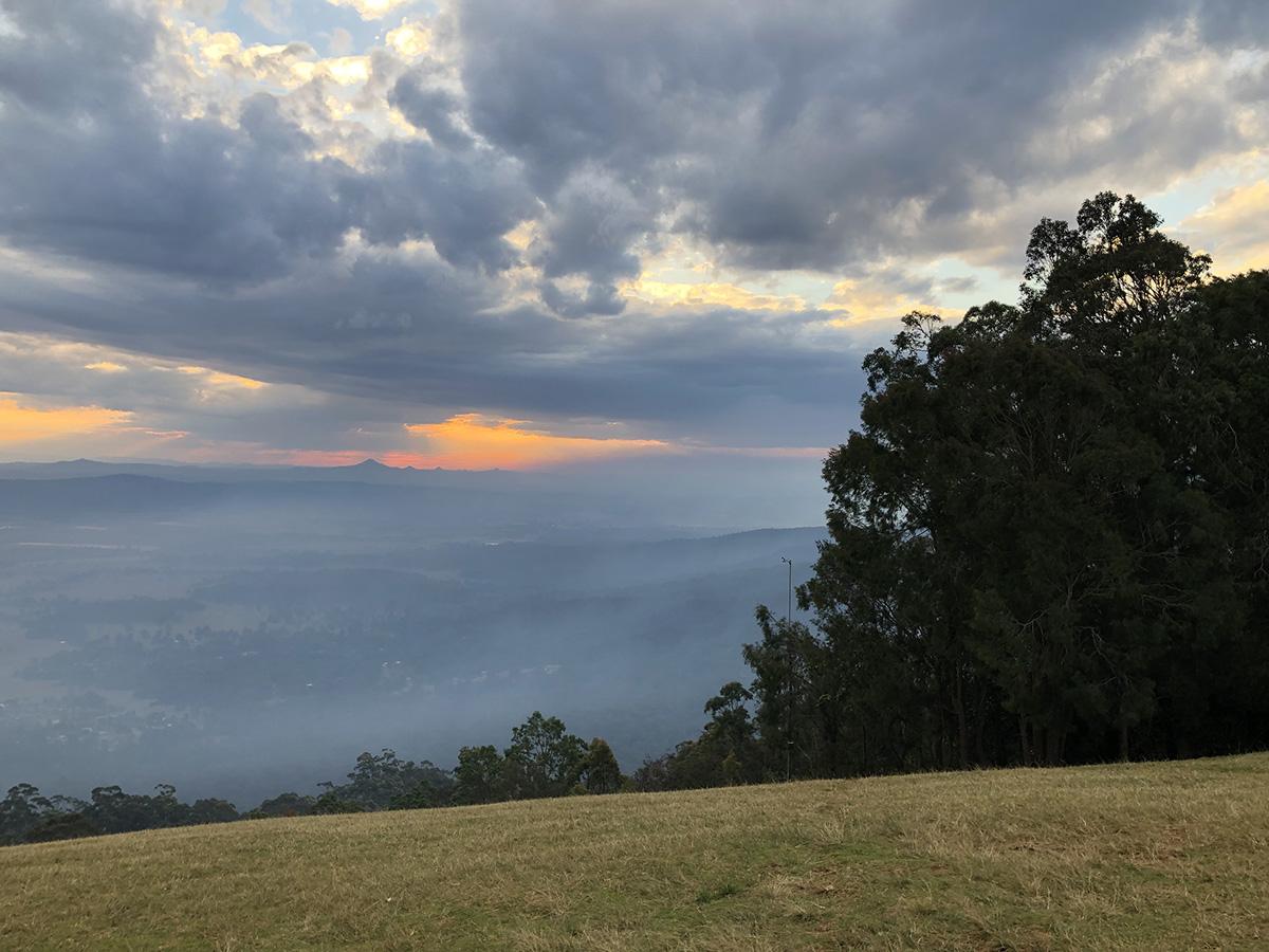 Mt Tamborine Sunset, Reference Photo