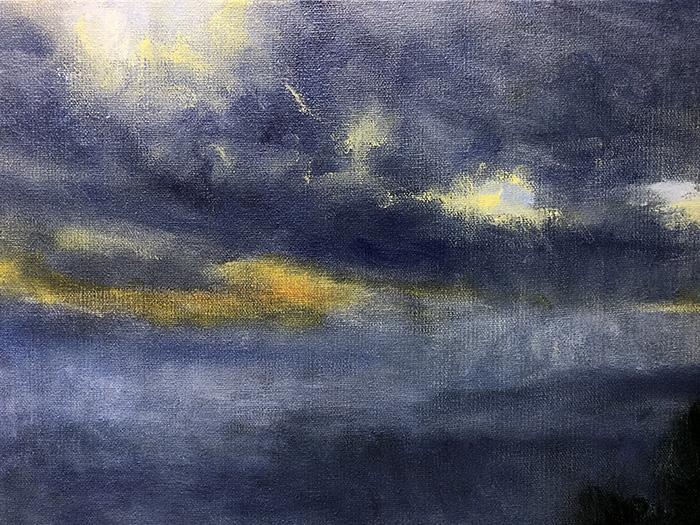 Mt Tamborine Sunset WIP (14)