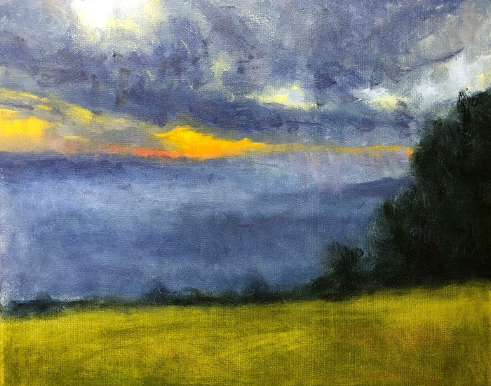Mt Tamborine Sunset WIP (17)