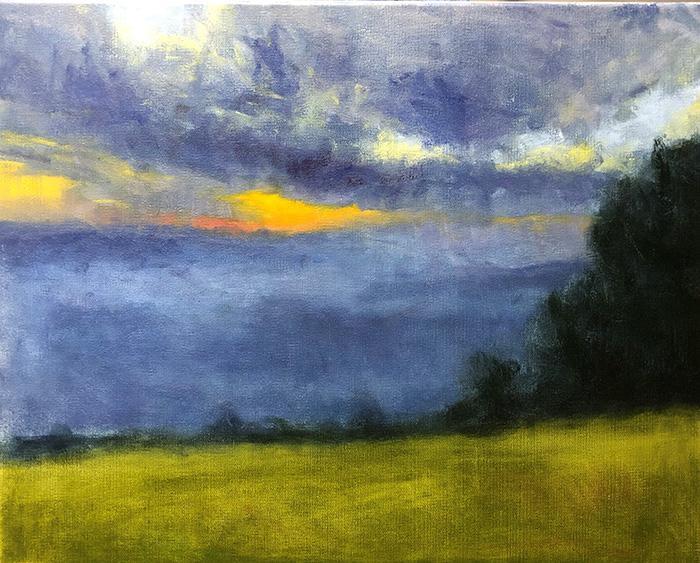Mt Tamborine Sunset WIP (18)