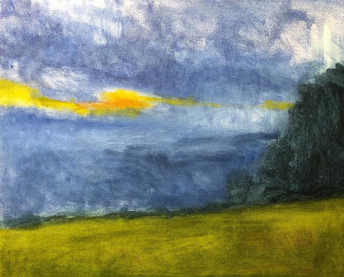 Mt Tamborine Sunset WIP (9)