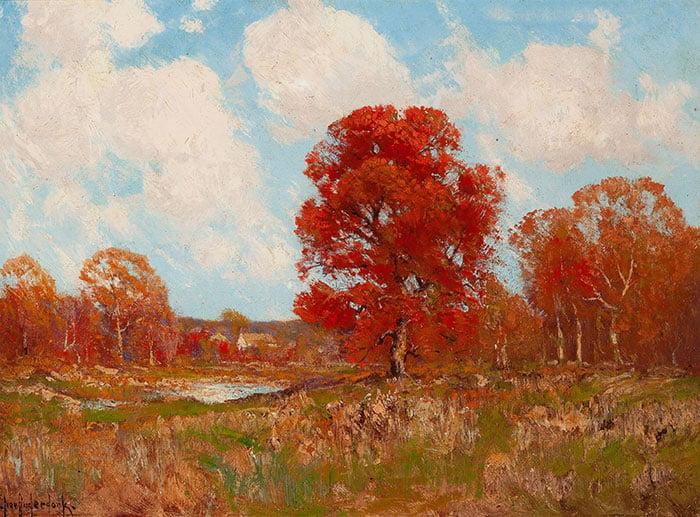 Robert Julian Onderdonk, Fall Landscape