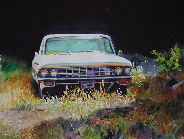 Dan Knepper, Steven's Old Car, 62 Cad