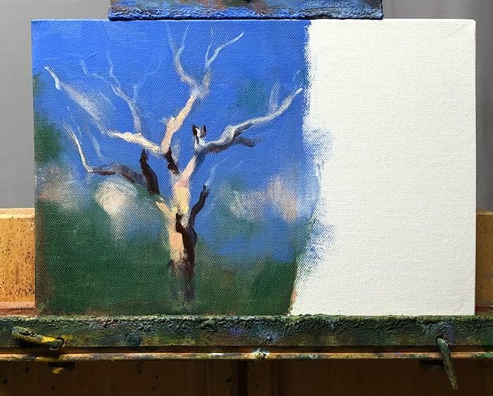 Dan Scott, Tree Study (WIP)