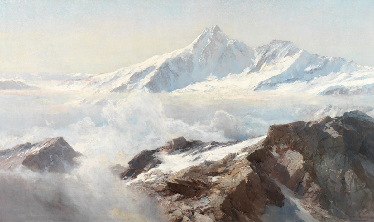 Edward Theodor Compton, Grossglockner, 1918