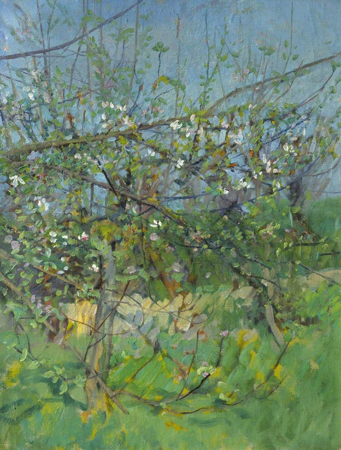 George Clausen, The Cherry Orchard