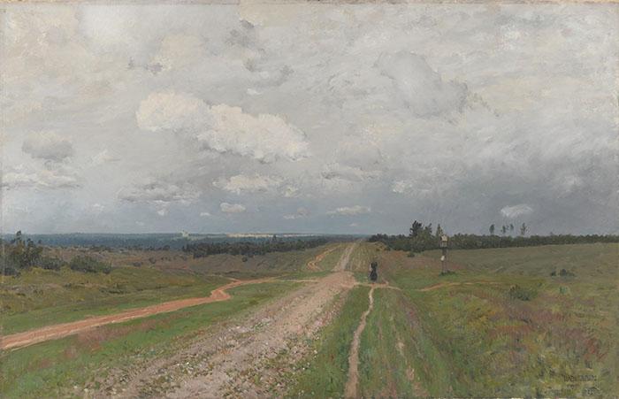 Isaac Levitan, Vladimirka, 1892