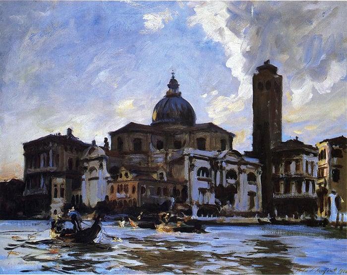John Singer Sargent, Palazzo Labia. Venice, 1913