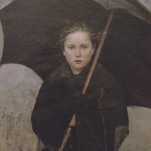 Marie Bashkirtseff, The Umbrella, 1883