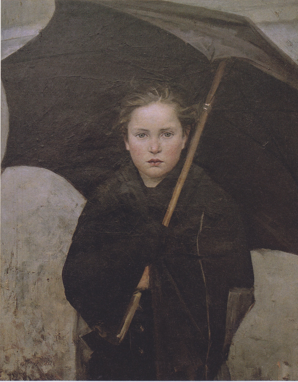 Marie Bashkirtseff, The Umbrella, 1883