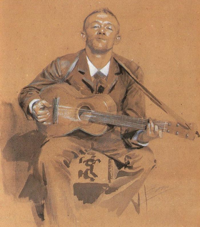 Anders Zorn, Ferdinand Boberg, c.1880