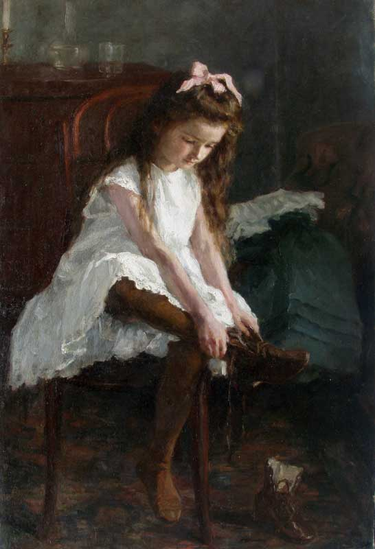 Emily Shanks, Girl, c.1890