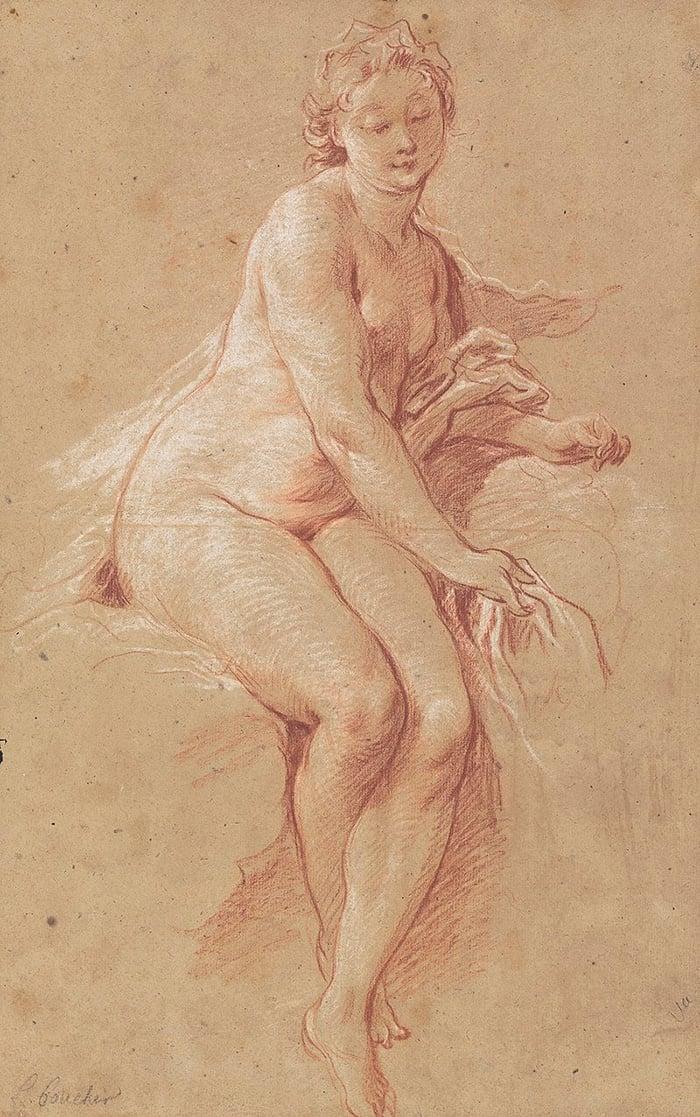 François Boucher, Aurora, c.1733