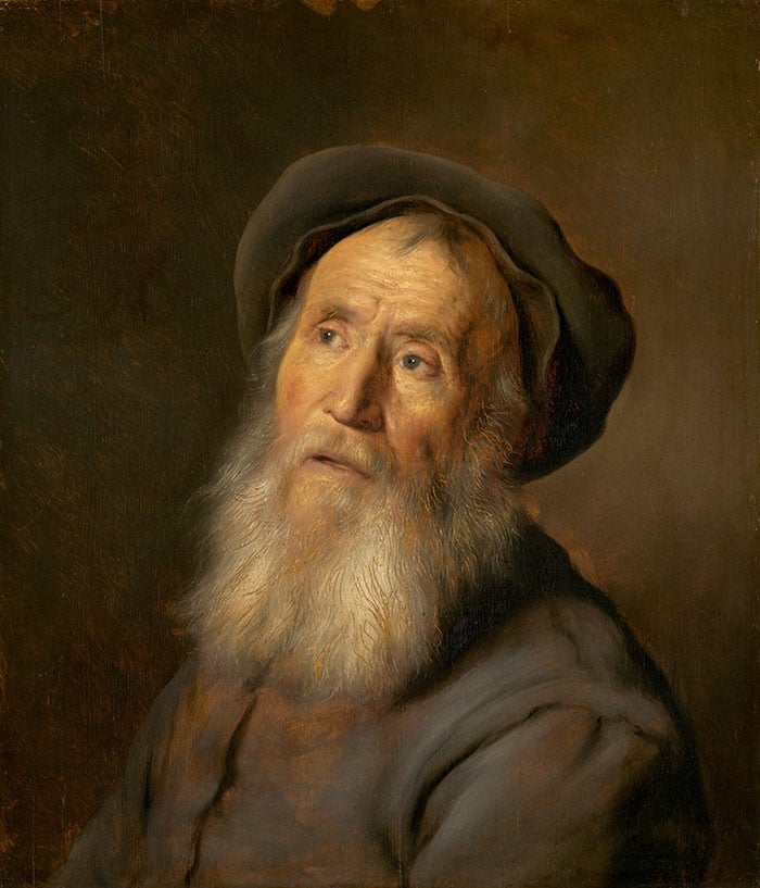 Jan Lievens, Bearded Man With a Beret, 1630