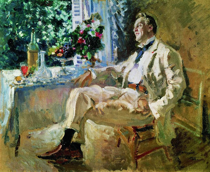 Konstantin Korovin, Feodor Chaliapin, 1915