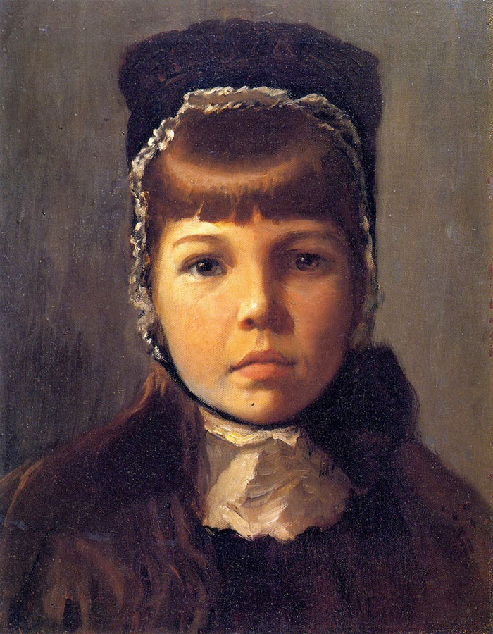 Lilla Cabot Perry, Margaret with a Bonnet, 1890
