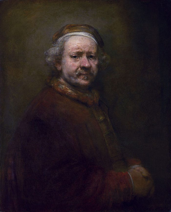 Rembrandt, Self-Portrait at the Age of 63, 1669