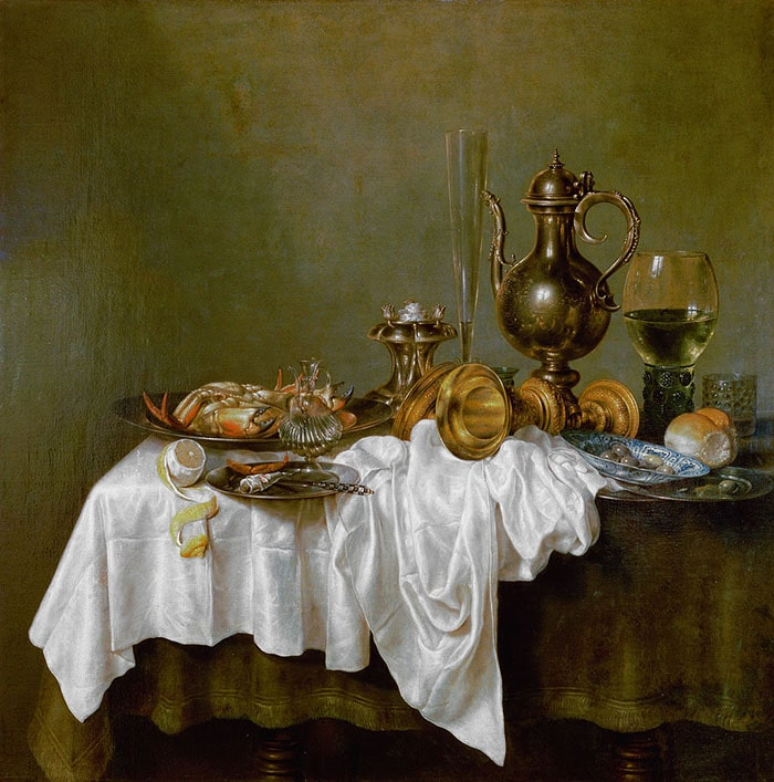 Willem Claesz. Heda, Breakfast, 1648