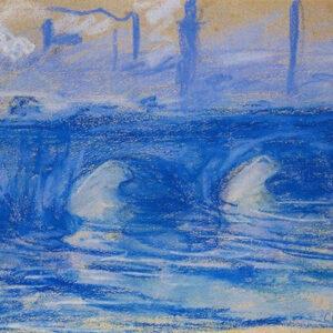 Claude Monet, Waterloo Bridge, 1899, Drawing