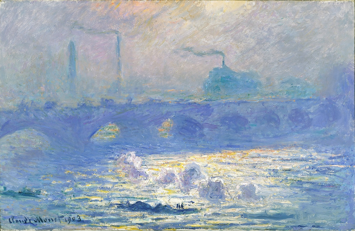 Claude Monet, Waterloo Bridge, 1903 (4)