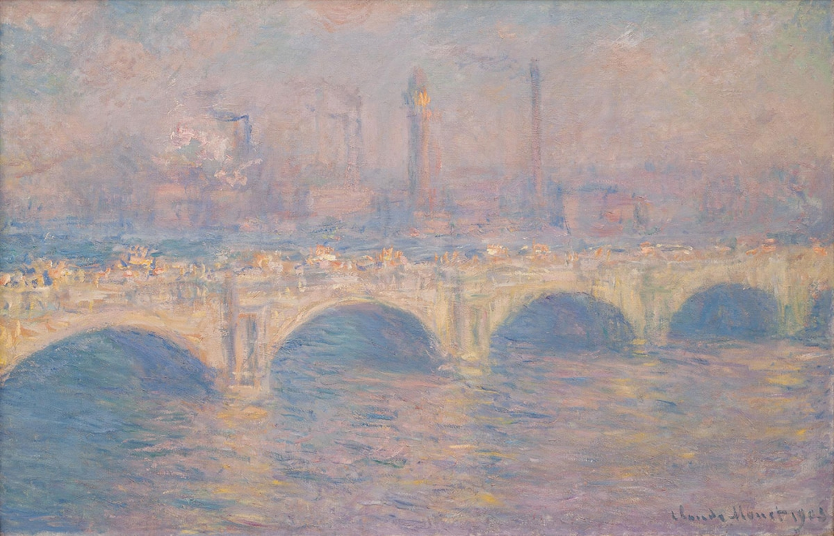 Claude Monet, Waterloo Bridge, 1903