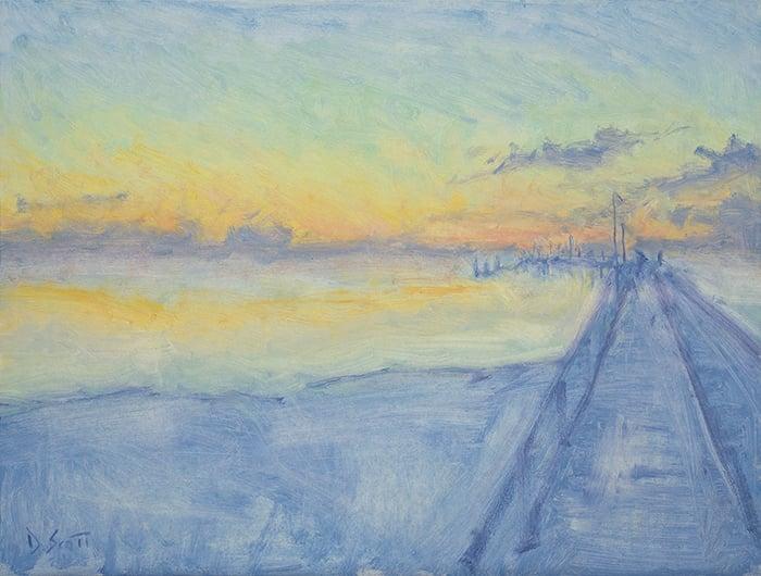 Fraser Island, High Key, 2020, 700W