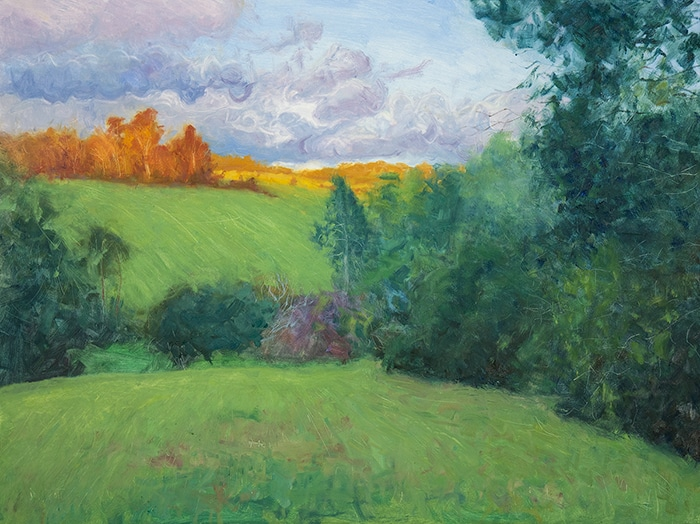 Dan Scott, Maleny, Late Afternoon, 2020, 700W
