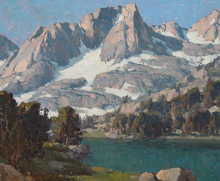 Edgar Alwin Payne, Alpine Lake