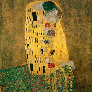 Gustav Klimt, Kiss, 1908