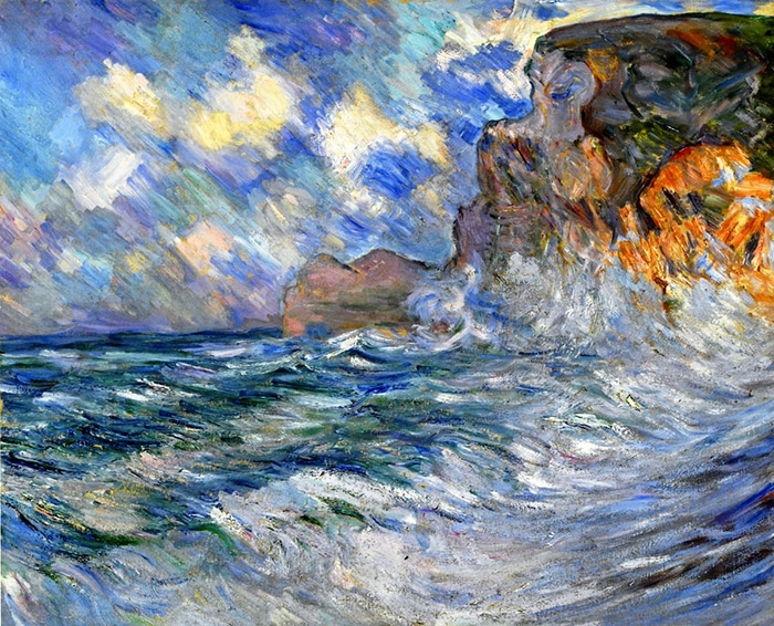 Lilla Cabot Perry, Cliffs of Etretat