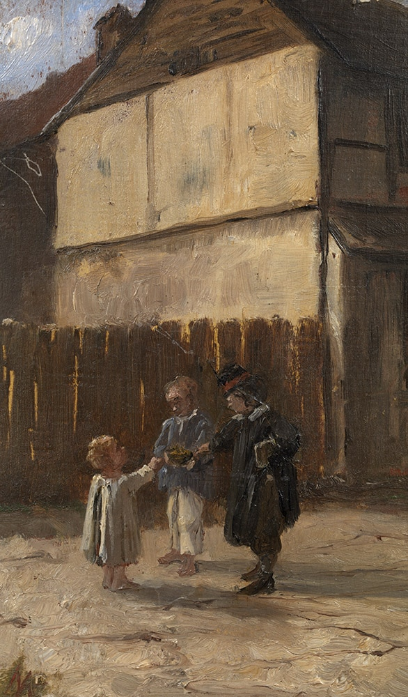 Marie Bashkirtseff, Boys in the Yard