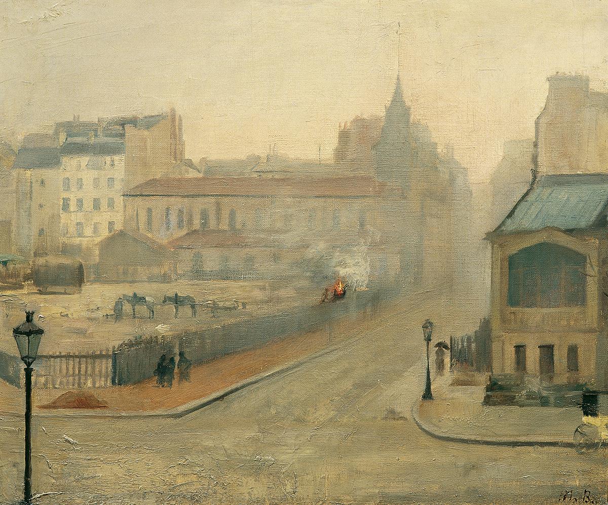 Marie Bashkirtseff, In the Mist, 1882