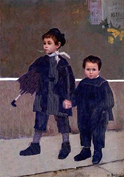 Marie Bashkirtseff, Jean and-Jacques, 1883