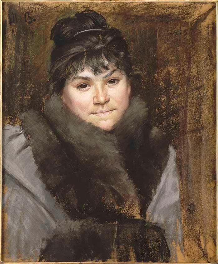 Marie Bashkirtseff, Portrait of Mme X