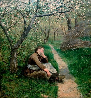 Marie Bashkirtseff, Spring, c.1884