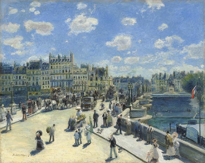 Pierre Auguste Renoir, Pont Neuf, 1872
