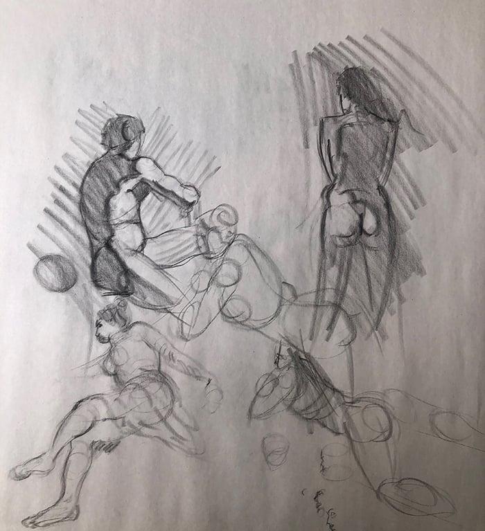 Steve Huston, Figure Drawing for Artists (2)