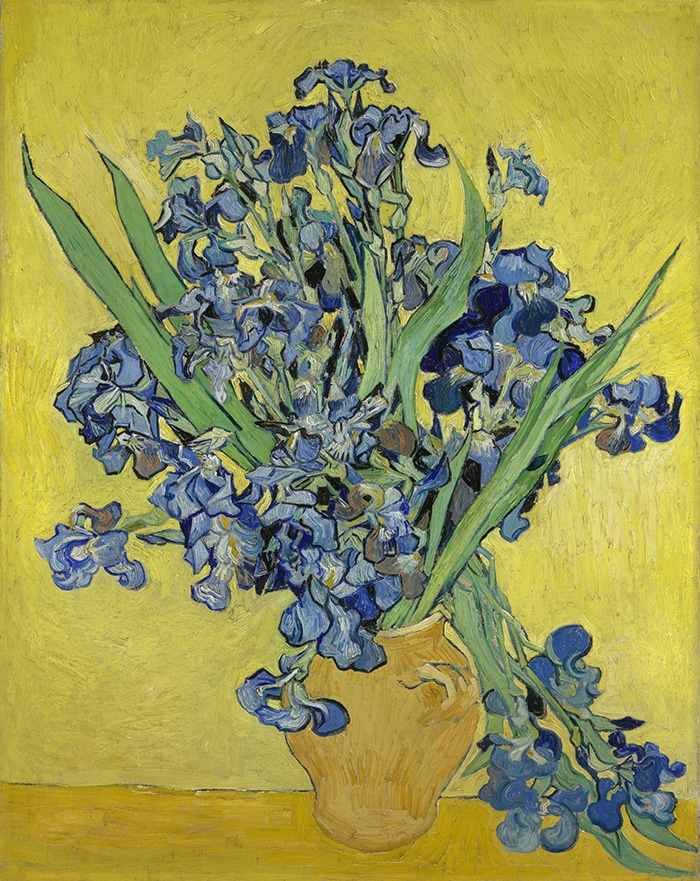 Vincent van Gogh, Bouquet of Irises, 1890