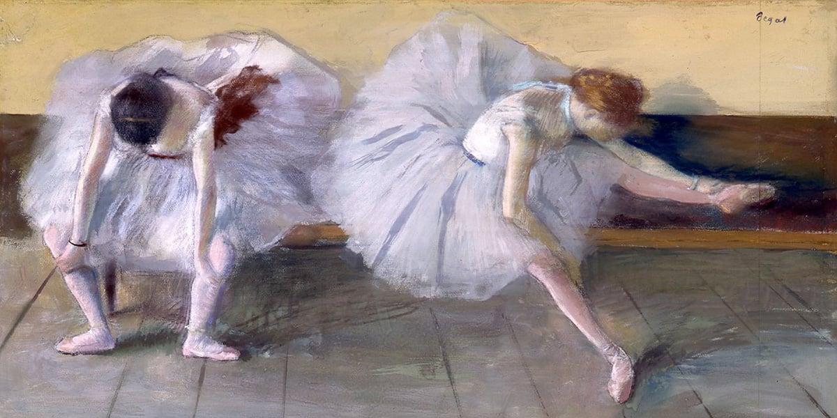 Edgar Degas, Deux Danseuses, 1879