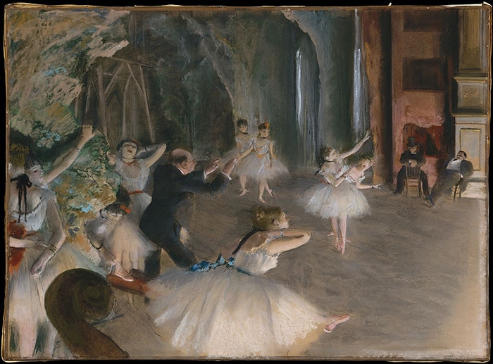 Edgar Degas, Stage Rehearsal, c.1878-79