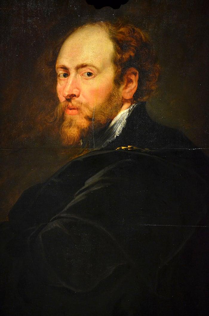 Rubens, Self-portrait, 1628