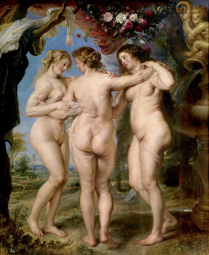 Rubens, The Three Graces, 1635