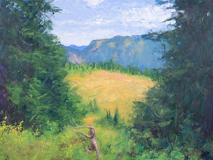 Dan Scott, American Landscape, 2020, 700W