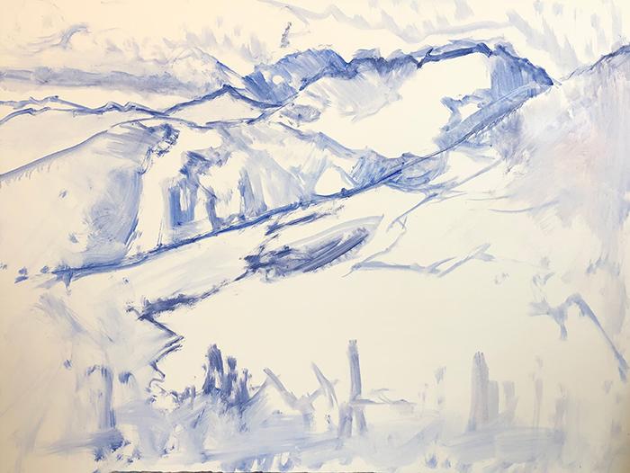 Dan Scott, American Mountains, 2020 (1)