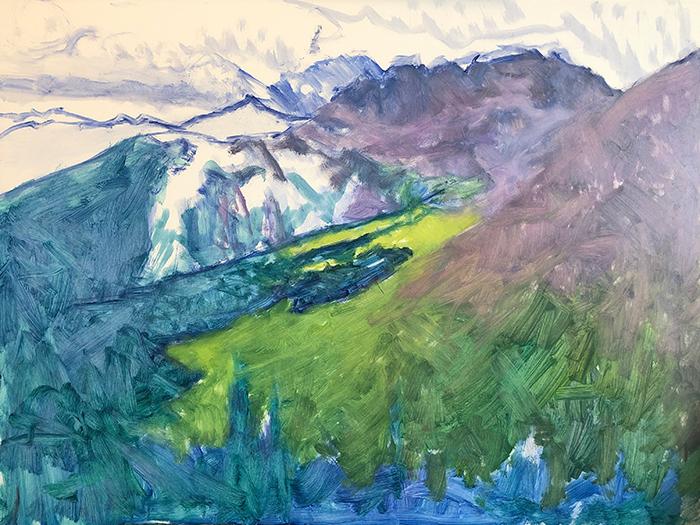 Dan Scott, American Mountains, 2020 (3)