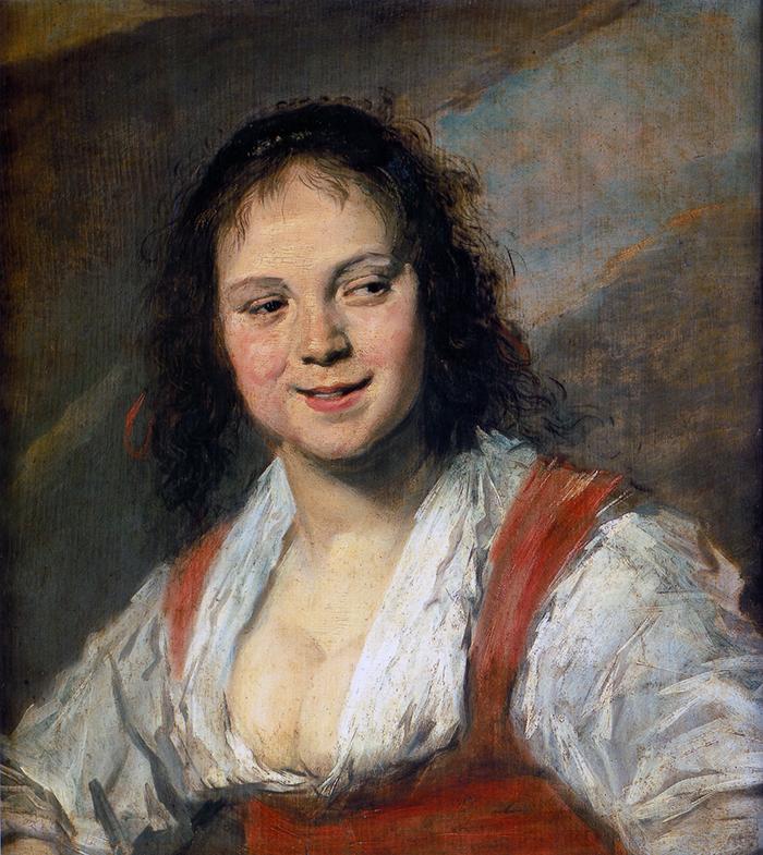 Frans Hals, Gypsy Girl, 1628-30